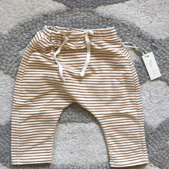 844fc49a79b Rylee   Cru mustard striped pants. 12-18. NWT
